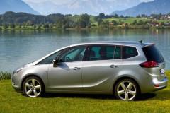Opel Zafira minivena foto attēls 8