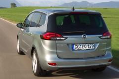 Opel Zafira minivena foto attēls 5