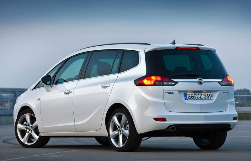 Opel Zafira Minivan Mpv 2011 Reviews Technical Data