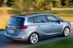 Opel Zafira minivena foto attēls 18