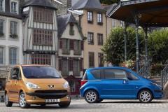 Peugeot 1007 minivena foto attēls 21