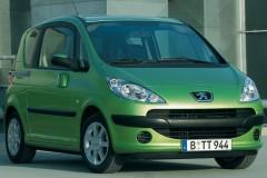 Peugeot 1007 minivena foto attēls 8