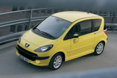 Peugeot 1007 minivena foto attēls 7