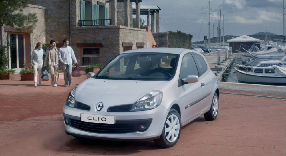 renault clio 3 door hatchback 2005 2009 reviews technical data prices. Black Bedroom Furniture Sets. Home Design Ideas
