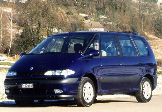 Renault Espace 2000 foto attēls