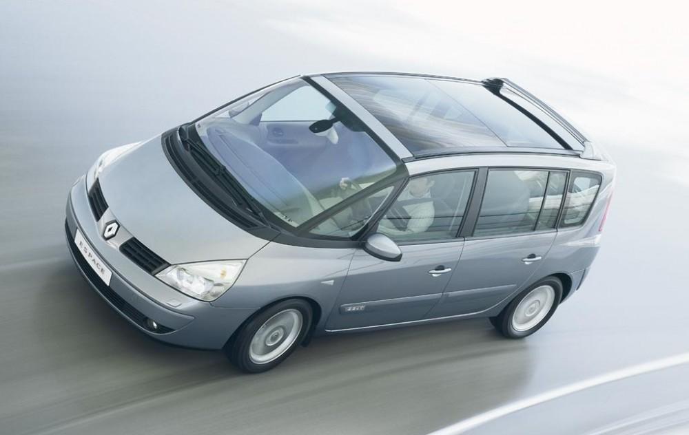 renault espace minivan mpv 2002 2006 reviews technical data prices. Black Bedroom Furniture Sets. Home Design Ideas