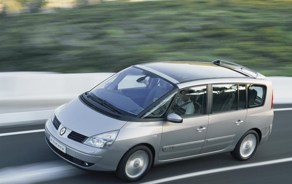 renault grand espace minivan mpv 2002 2006 reviews technical data prices. Black Bedroom Furniture Sets. Home Design Ideas
