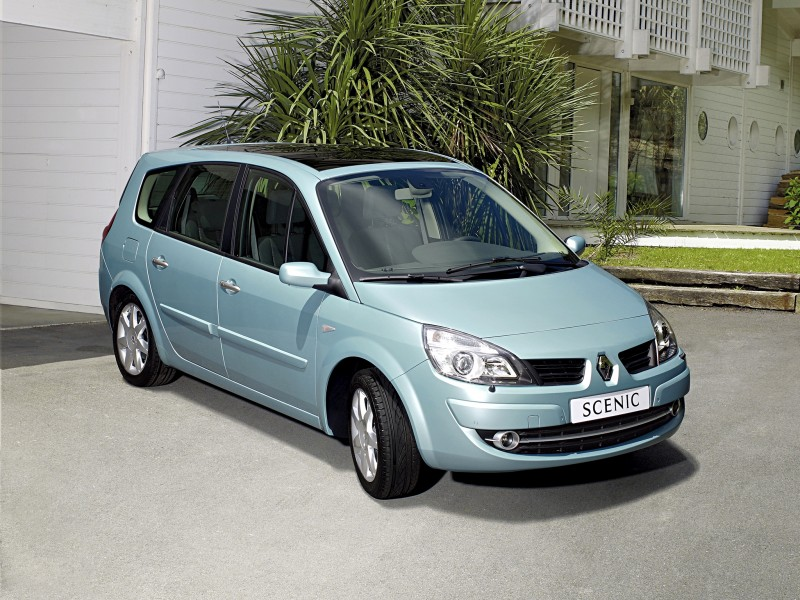 renault grand scenic minivan mpv 2006 2009 reviews technical data prices. Black Bedroom Furniture Sets. Home Design Ideas