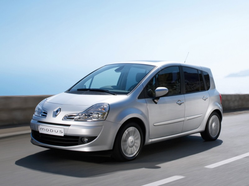 renault modus minivan mpv 2008 2012 reviews technical data prices. Black Bedroom Furniture Sets. Home Design Ideas
