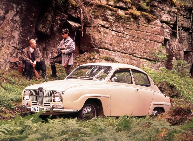 SAAB 96 1966 foto