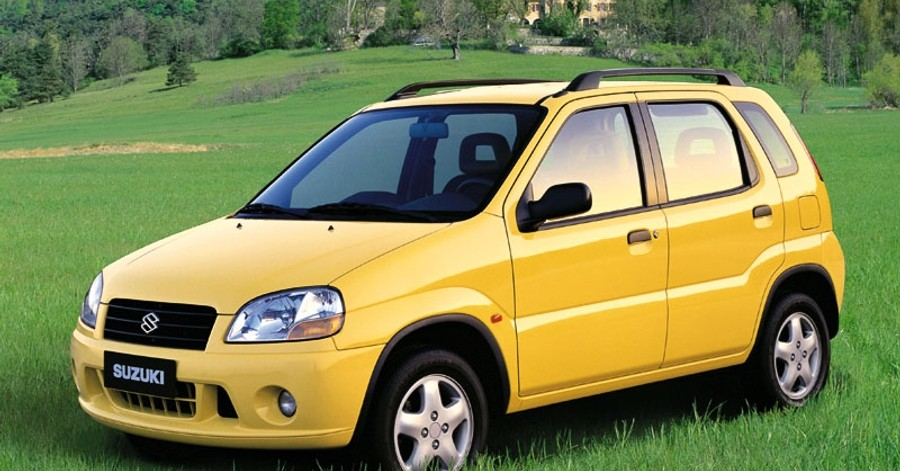 suzuki ignis hatchback 2001 2003 technical data prices. Black Bedroom Furniture Sets. Home Design Ideas