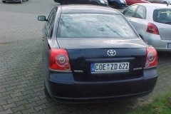 Toyota Avensis sedan photo image 18