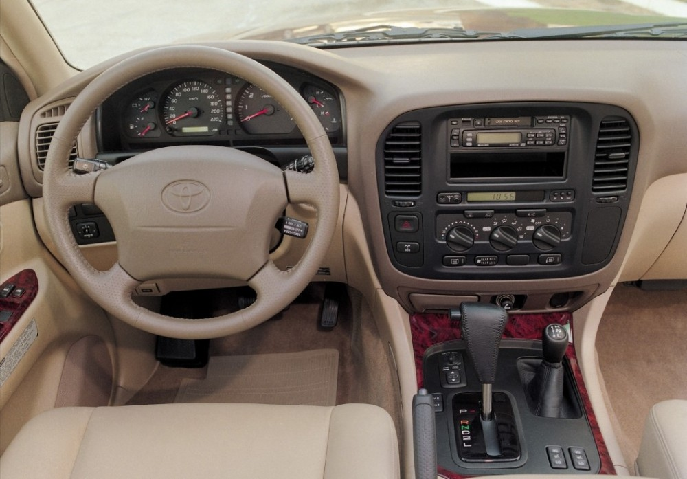 Toyota Land Cruiser 1998 - 2002 reviews, technical data, prices