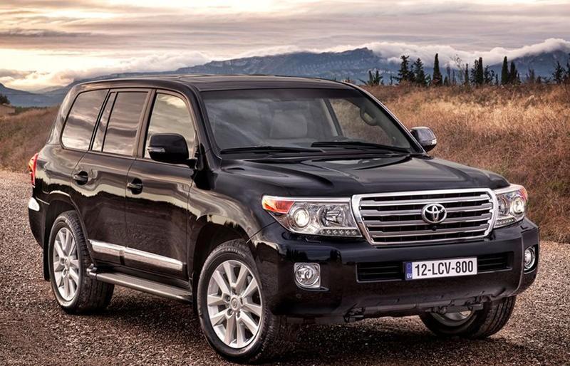 Toyota Land Cruiser 2012 foto attēls