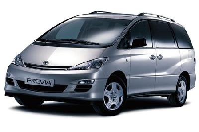 toyota previa minivan mpv 2003 2005 reviews technical data prices. Black Bedroom Furniture Sets. Home Design Ideas