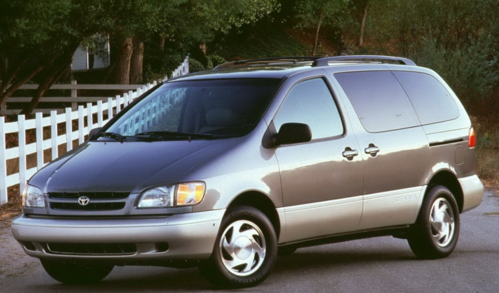 toyota sienna minivan mpv 1997 2003 reviews technical data prices auto abc