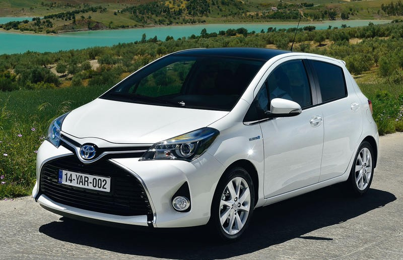 toyota yaris hatchback 2014