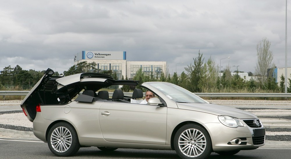 volkswagen eos cabrio 2006 2011 technical data prices. Black Bedroom Furniture Sets. Home Design Ideas