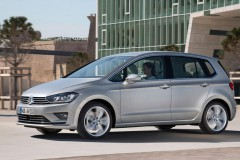 Volkswagen Golf Sportsvan minivan foto 14