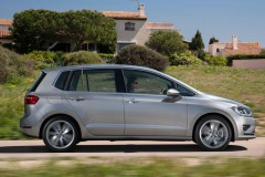 Volkswagen Golf Sportsvan minivan foto 16