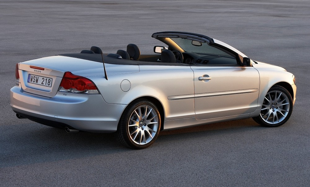 volvo c70 cabrio 2006 2009 reviews technical data prices. Black Bedroom Furniture Sets. Home Design Ideas