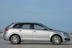 Audi A3 Sportback 8PA hečbeka foto attēls 7