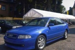 Audi A4 sedana foto attēls 18