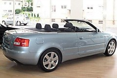 Audi A4 kabrioleta foto attēls 8