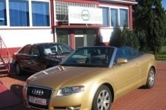 Audi A4 kabrioleta foto attēls 1