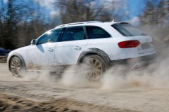 Audi A4 Allroad estate car photo image 4