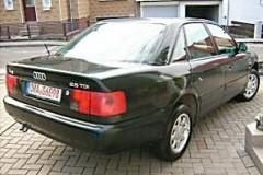 Audi A6 sedana foto attēls 13