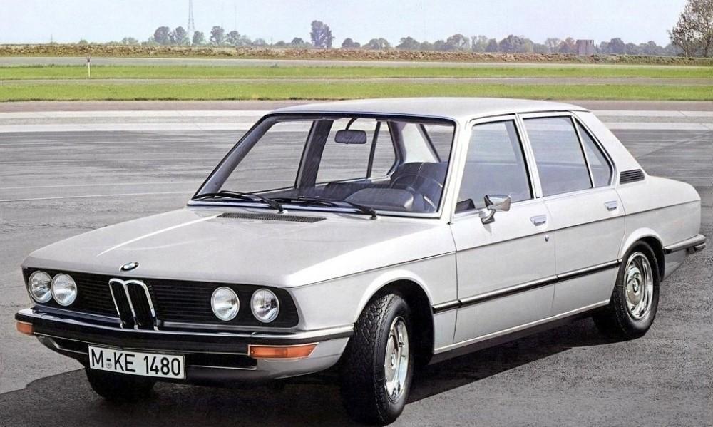 BMW 5 sērija 1974 foto attēls
