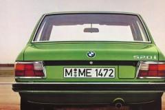 BMW 5 sērijas E12 sedana foto attēls 3