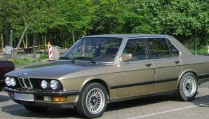 BMW 5 sērija 1981 foto attēls