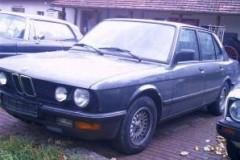 BMW 5 sērijas E28 sedana foto attēls 9