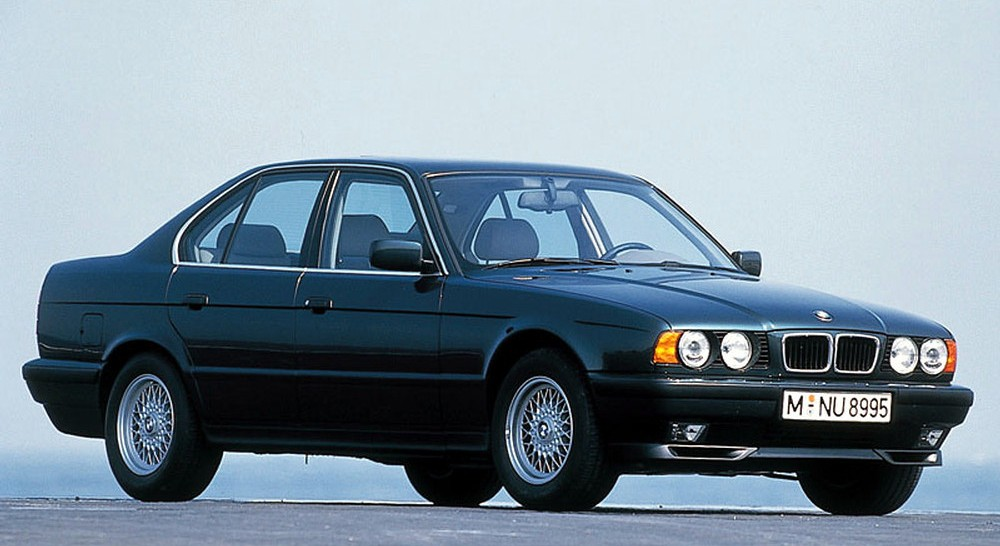 bmw 540i 1991 factory service repair manual