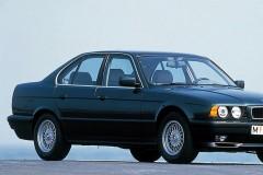 BMW 5 sērijas E34 sedana foto attēls 3