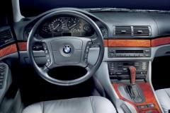 BMW 5 sērijas E39 sedana foto attēls 8