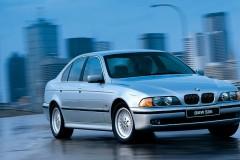 BMW 5 sērijas E39 sedana foto attēls 1