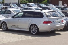 BMW 5 sērijas Touring E61 universāla foto attēls 21