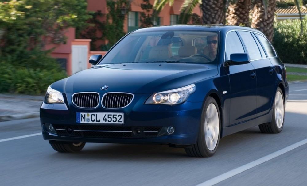 BMW 5 sērija 2007 foto attēls