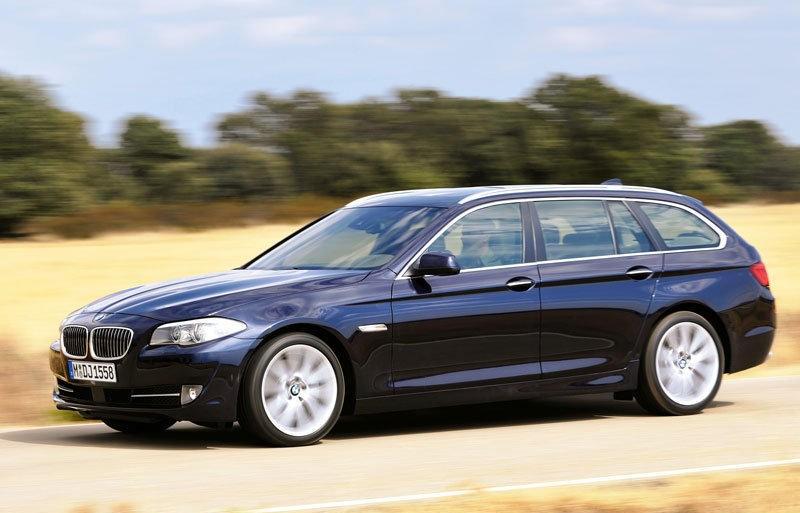 BMW 5 sērija 2010 foto attēls