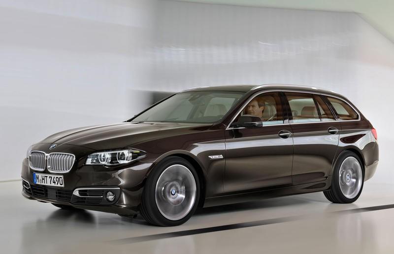 BMW 5 sērija 2013 foto attēls