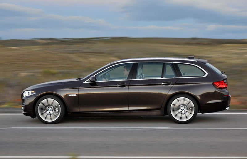 Bmw 5 Series Touring F11 Estate Car Wagon 2013 Reviews Technical Data Prices