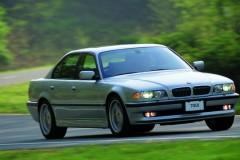 BMW 7 sērijas E38 sedana foto attēls 1