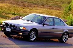 BMW 7 sērijas E38 sedana foto attēls 2