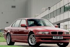 BMW 7 sērijas E38 sedana foto attēls 6