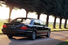 BMW 7 sērijas E38 sedana foto attēls 7