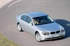 BMW 7 sērijas E65/E66 sedana foto attēls 17