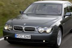 BMW 7 sērijas E65/E66 sedana foto attēls 16